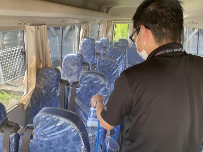バス消毒4